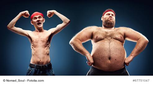 Kann man Körperfett in Muskeln umwandeln?